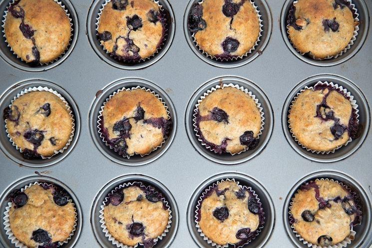 Muffin frutti bosco