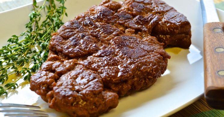 Una bistecca totalmente vegana