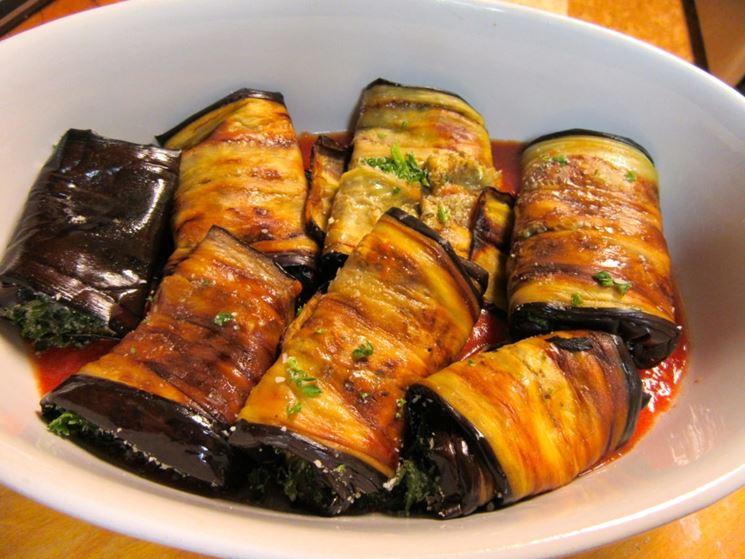 Famoso Involtini vegan - Secondi piatti vegani - Come realizzare  LE37