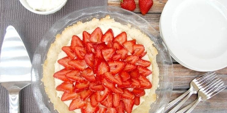 Crostata crema fragole